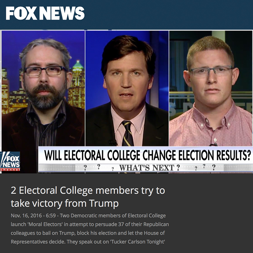 Fox news interview with Tucker Carlson