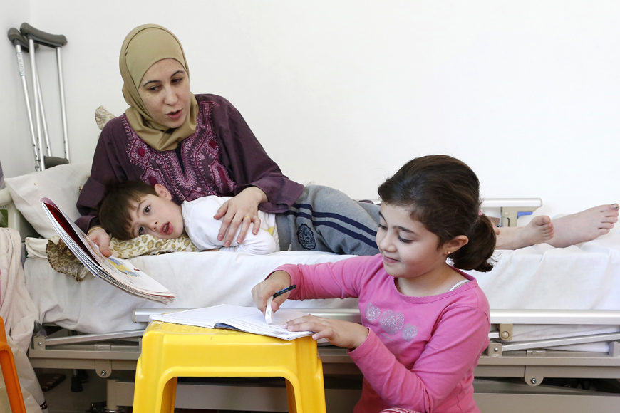 A Syrian Mother's Hope