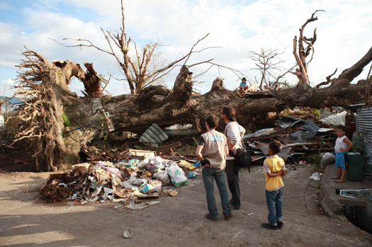 Voice from the Philippines: The Scene was Apocalyptic