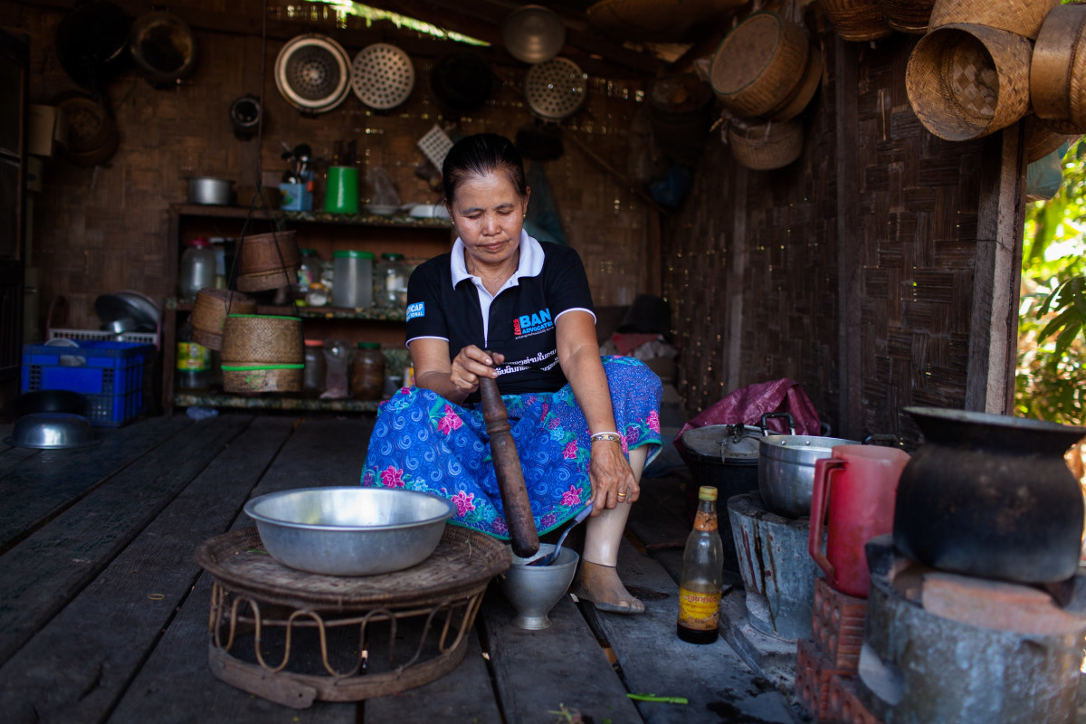 Laos: Protecting 10,000 People from Cluster Bombs