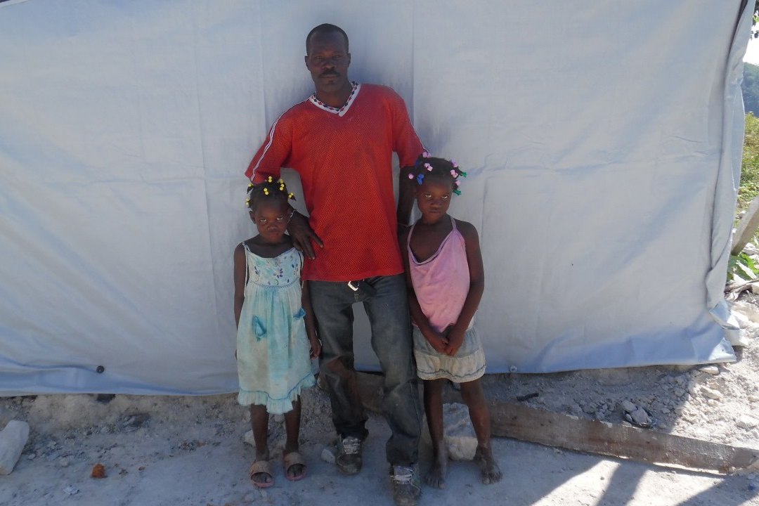 "Haiti: ""We can finally rebuild our home"""