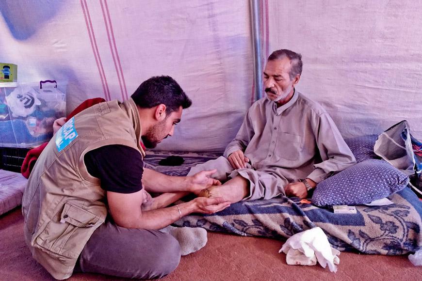 "Iraq: ""Handicap International saved my life"""