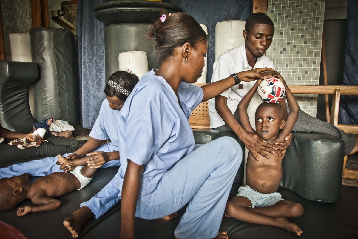 Breaking the cycle of malnutrition with physical therapy