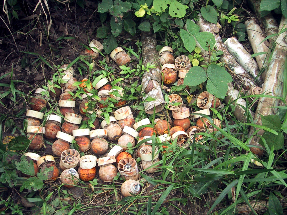 Cluster munitions: weapons made to massacre