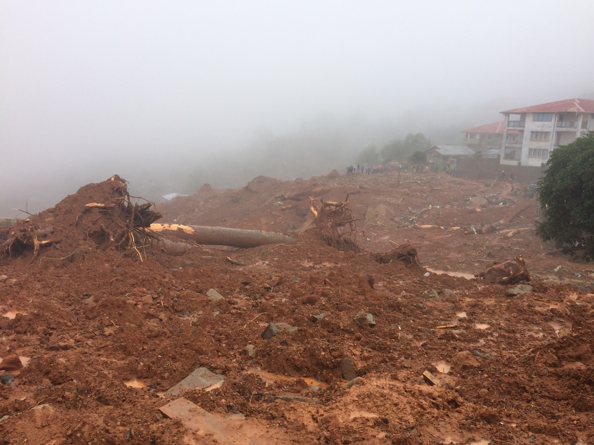Death toll rises from Freetown mudslides