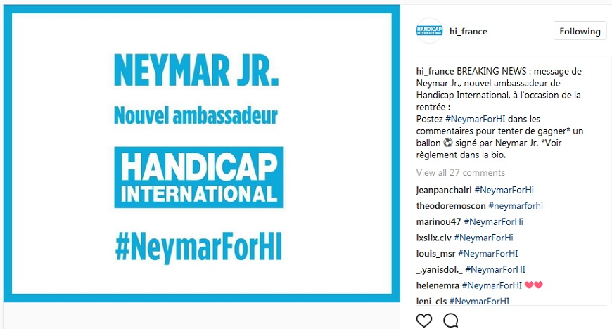 Neymar Jr: your chance to win a signed soccer ball!!