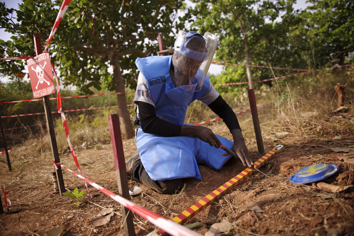 HI completes mine clearance operations in Senegal