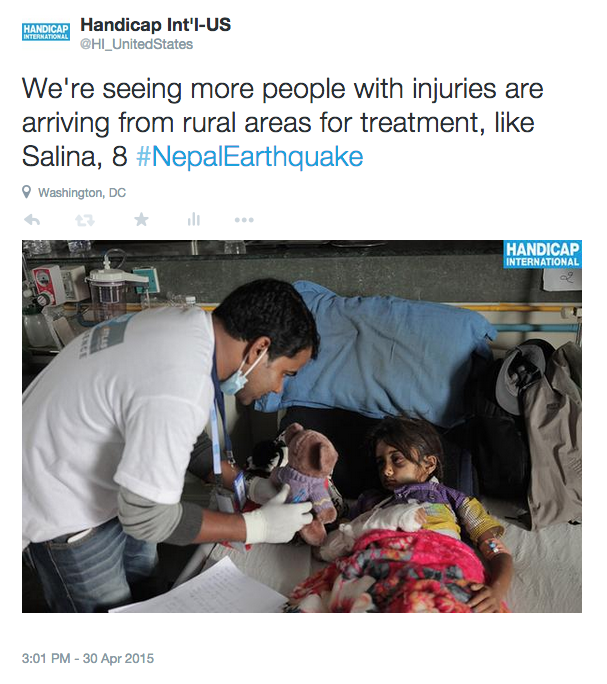 Nepal Earthquake: The Latest Updates - Humanity & Inclusion