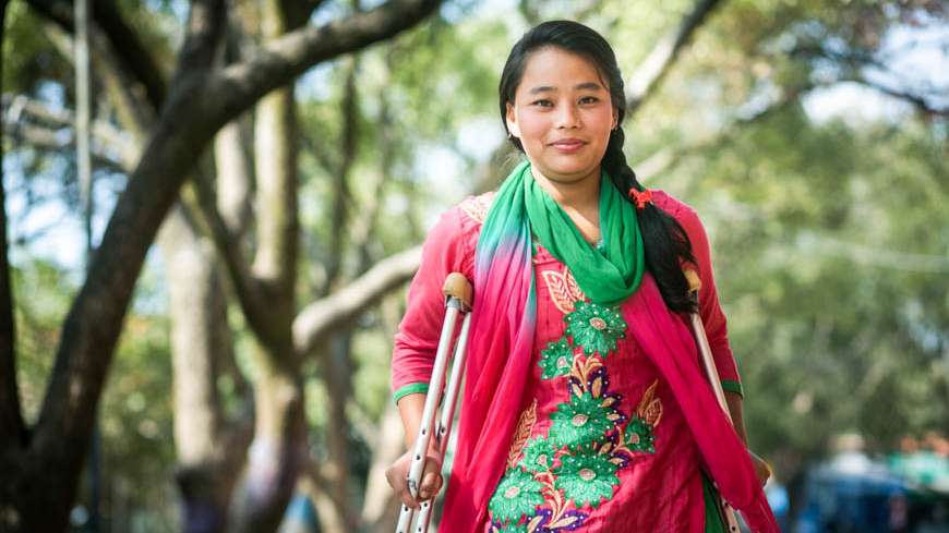 Sanu: Locked away for years, disabled Nepalese girl tastes freedom