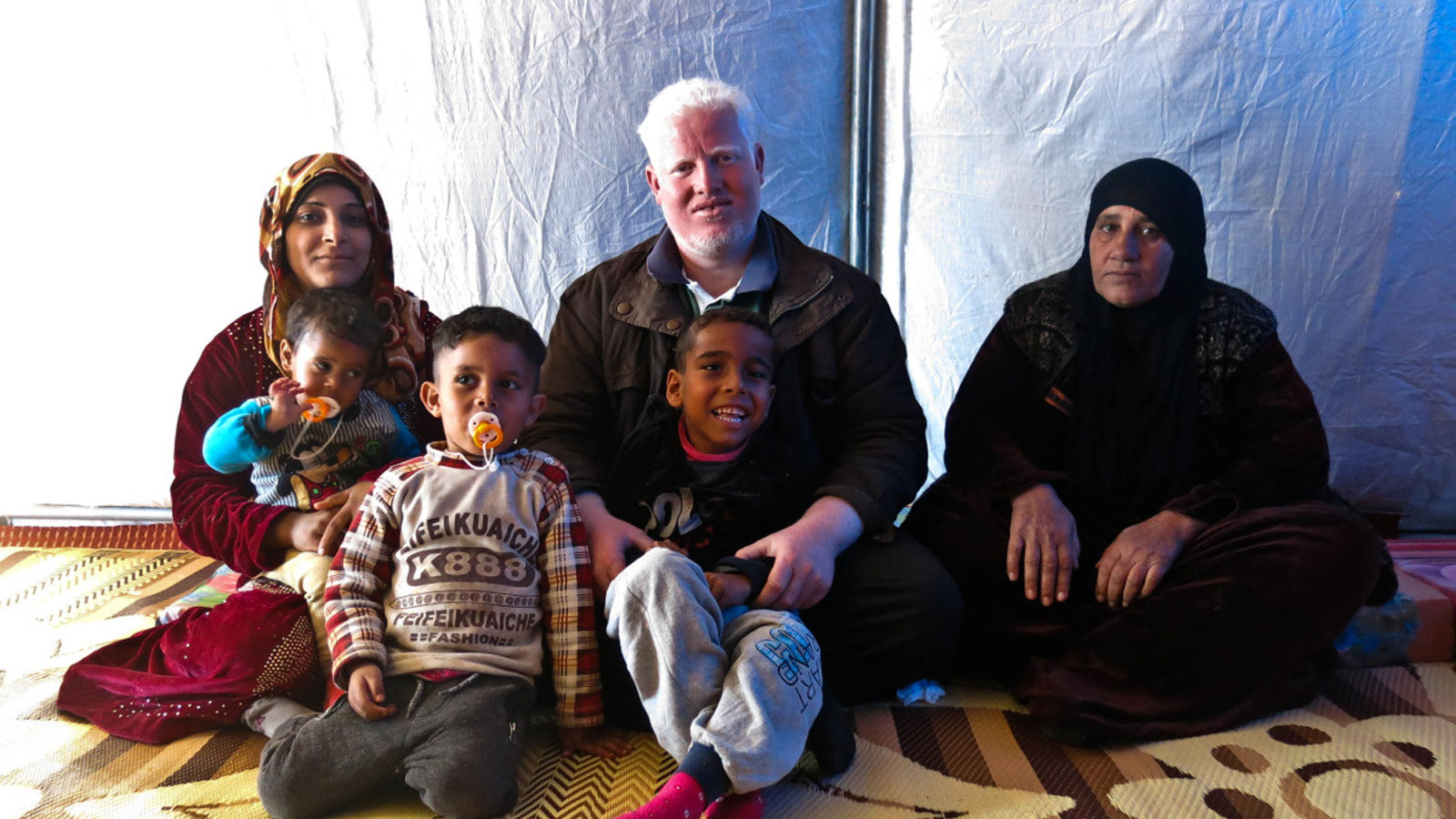 Zeidan and his family
