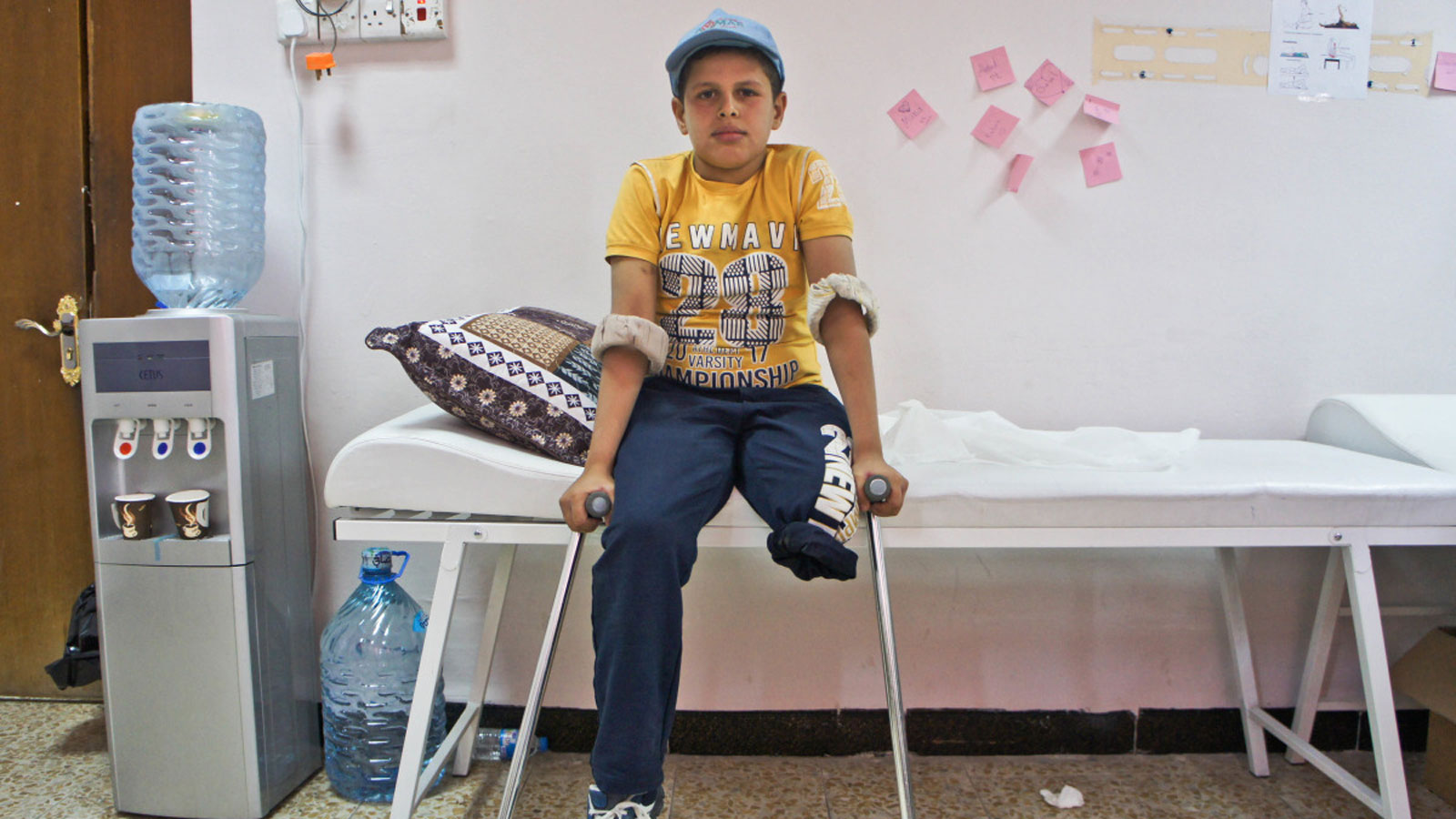 Beneficiary story | Helping Omar stand tall
