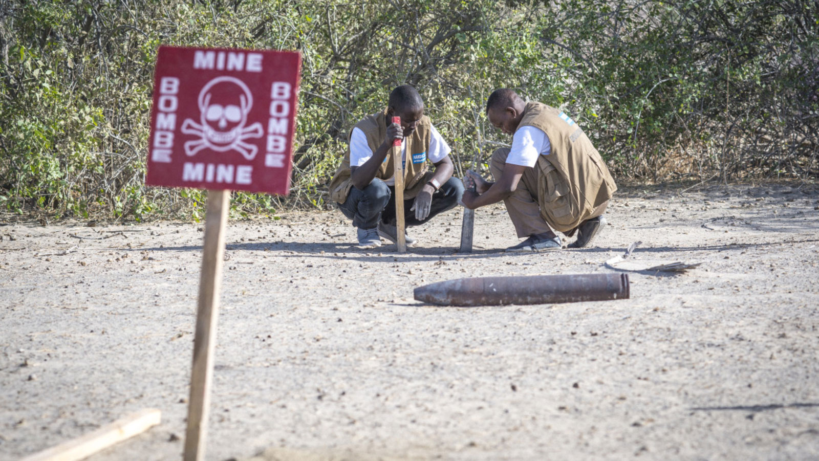 Landmines—a deadly, disabling threat to humanity