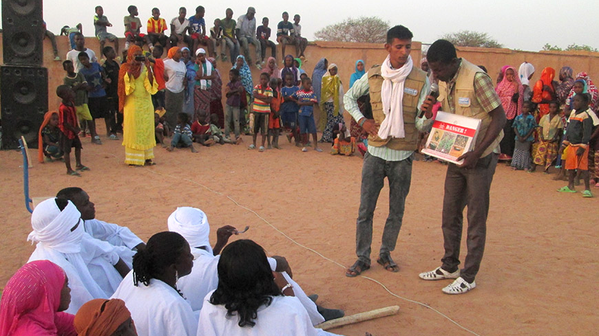 Mali: Teaching Risk Education in Post-Conflict Areas