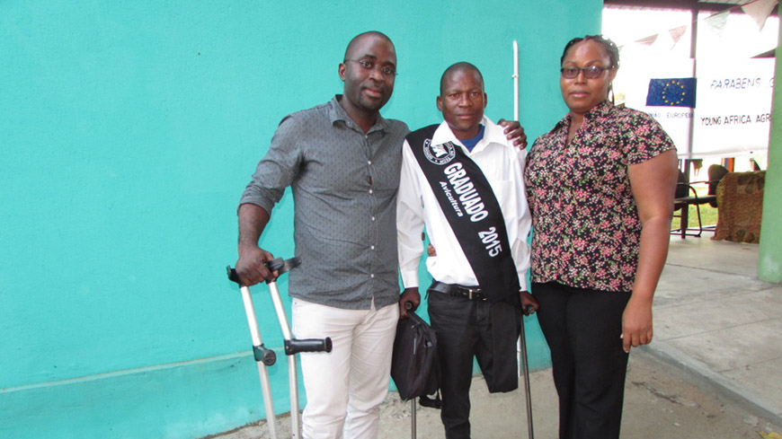 Mozambique: Getting People with Disabilities into the Workforce