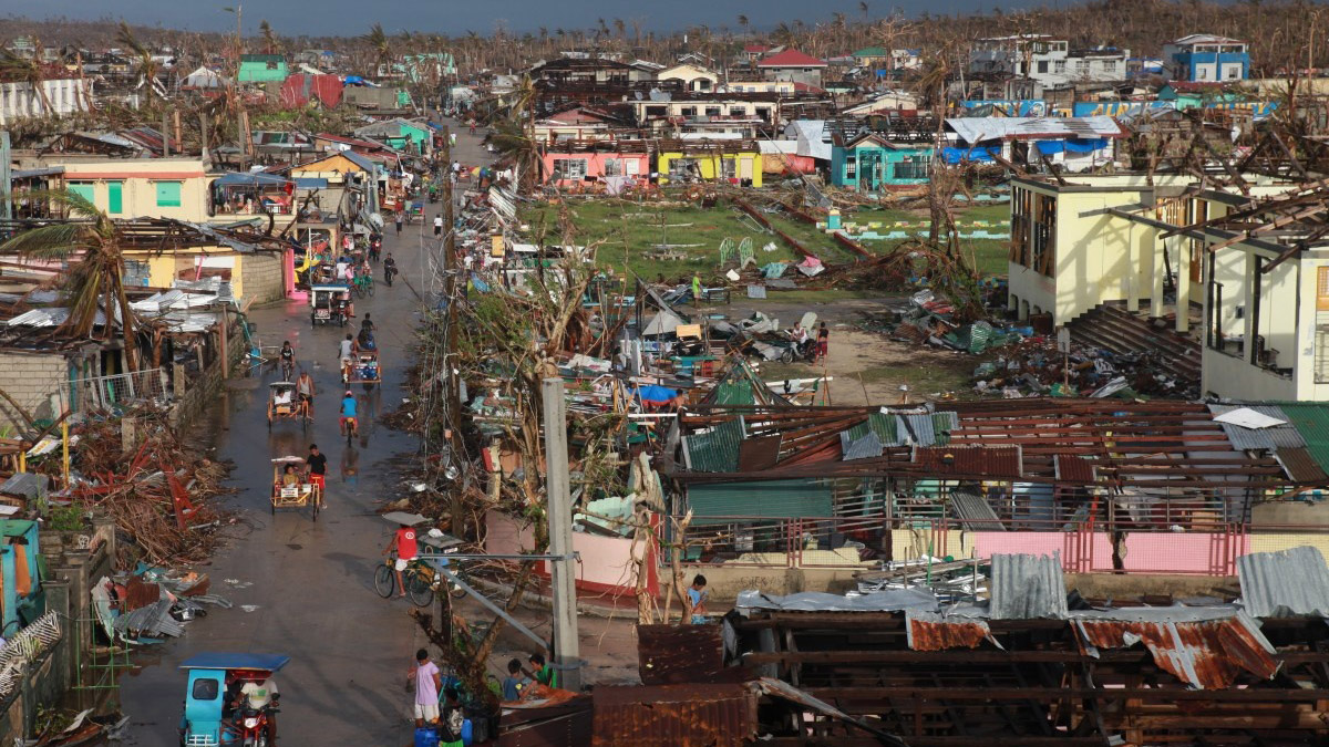 Philippines after Typhoon Haiyan