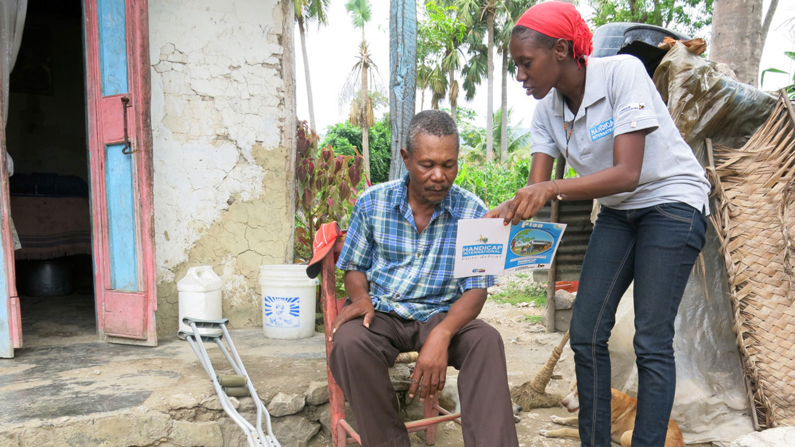 Haiti: Helping isolated families protect themselves