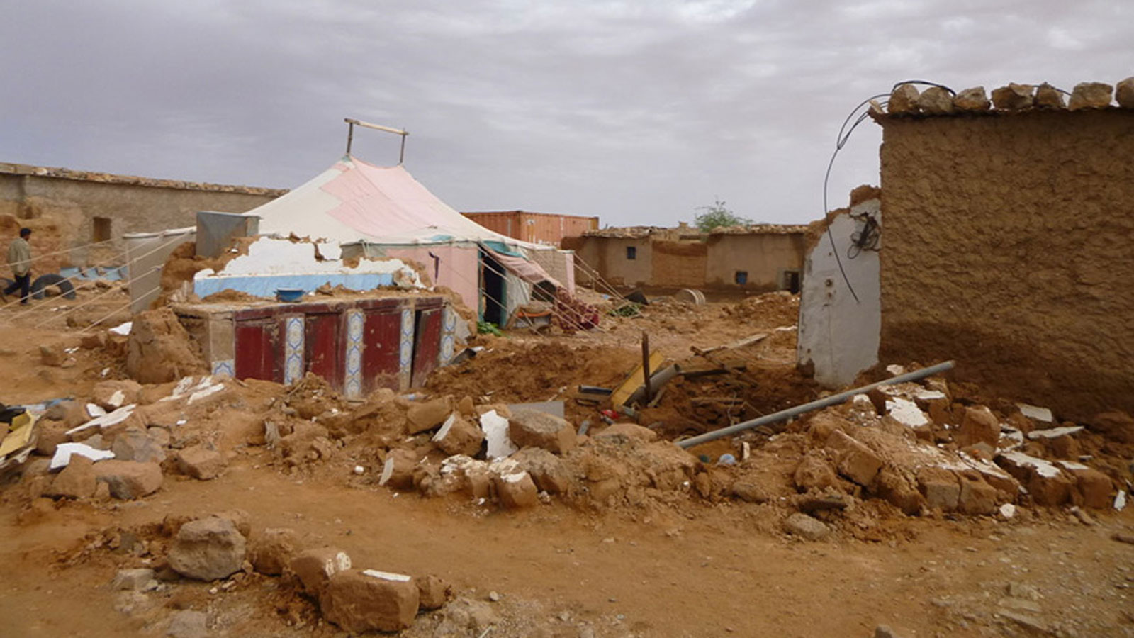 Responding to Flooding in Algerian Refugee Camps