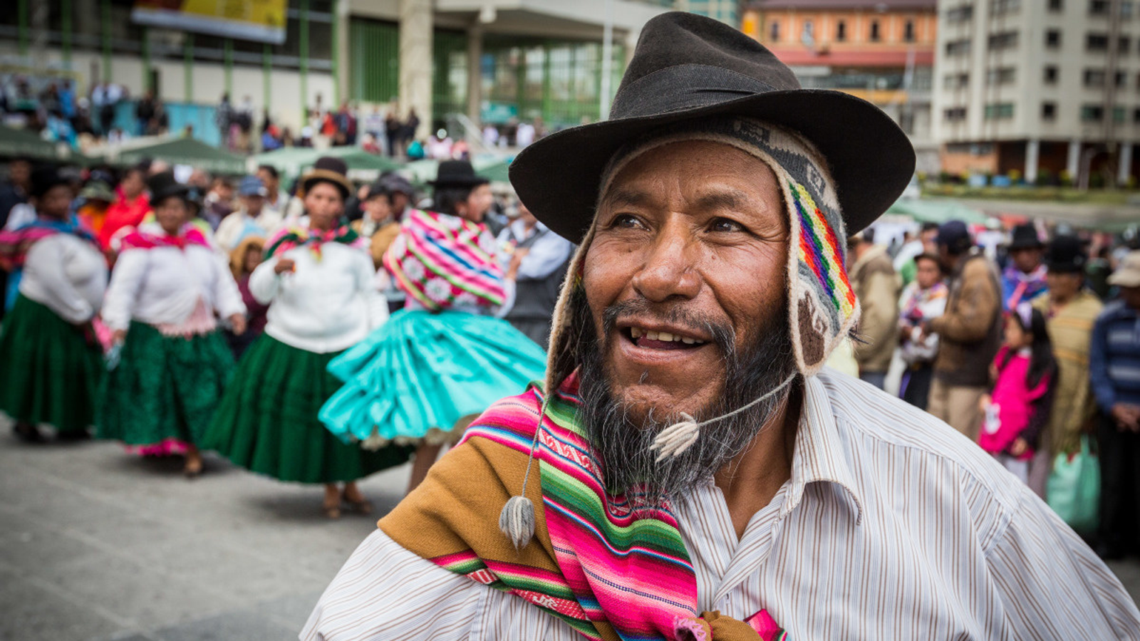 People celebrate the 9th anniversary of the CRPD in Bolivia