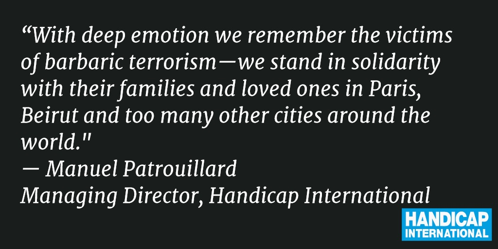 Statement: Paris attacks