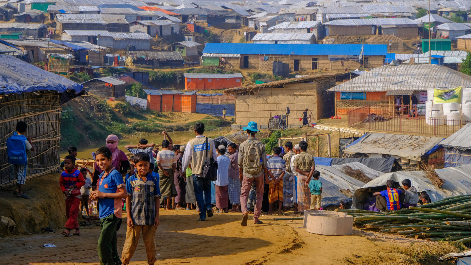 Emergency in Bangladesh | Rohingya refugees brace for flooding and landslides