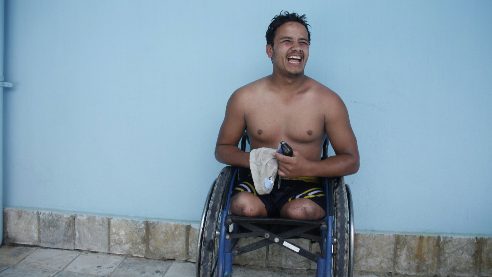 Nepal earthquake survivor | Winning medals and training for the Paralympics