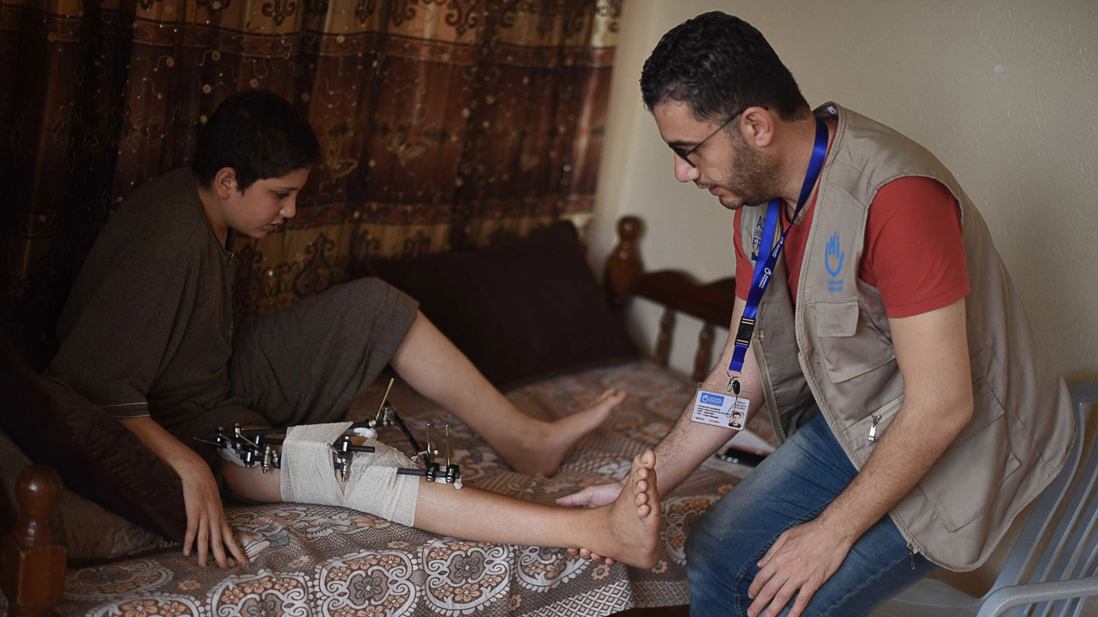 Gaza emergency | Regaining mobility and independence one day at a time
