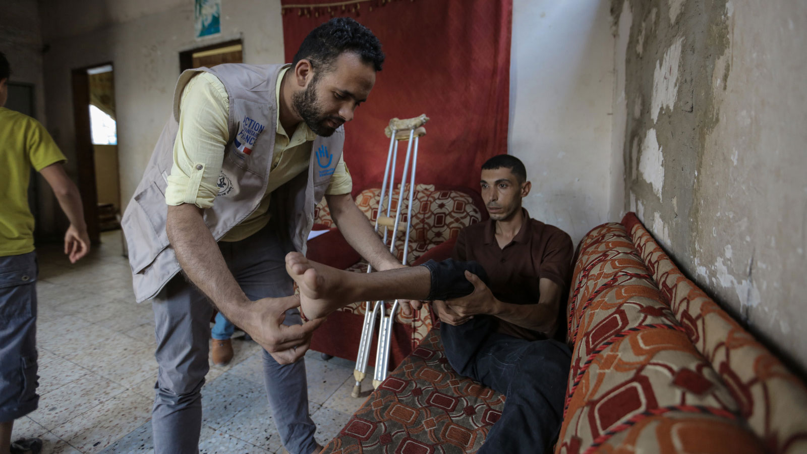 Gaza emergency | Gaining strength through rehabilitation