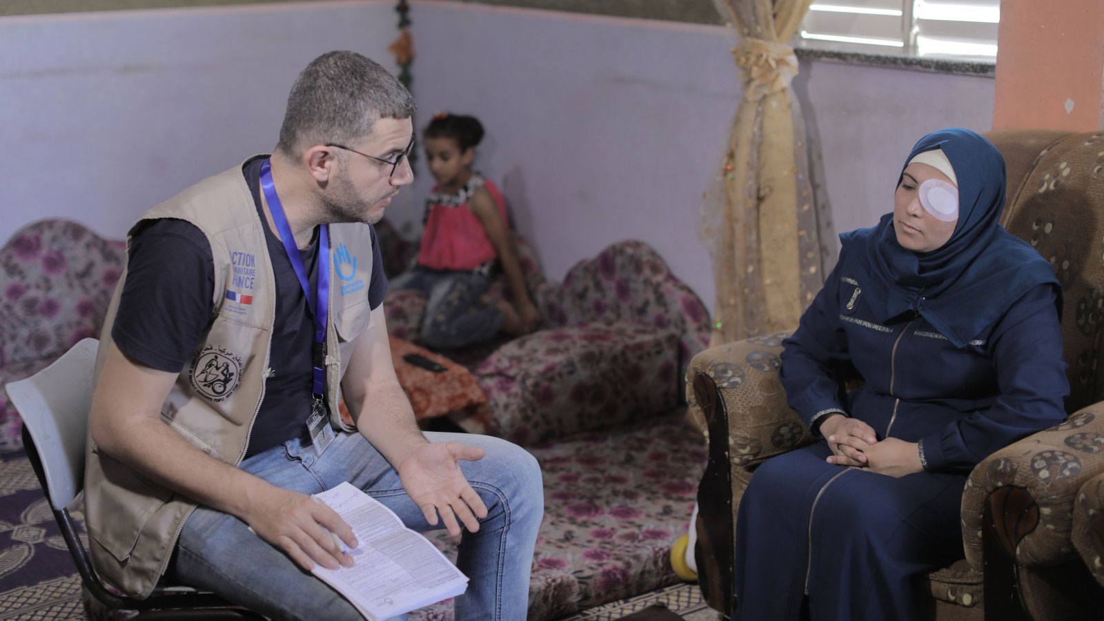 Gaza Emergency | First responder volunteer loses her eyesight