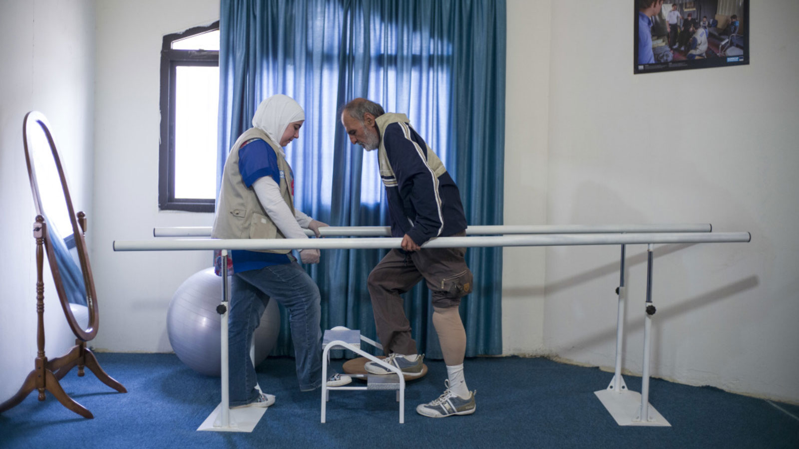 1/5 Syrian Refugees has disability