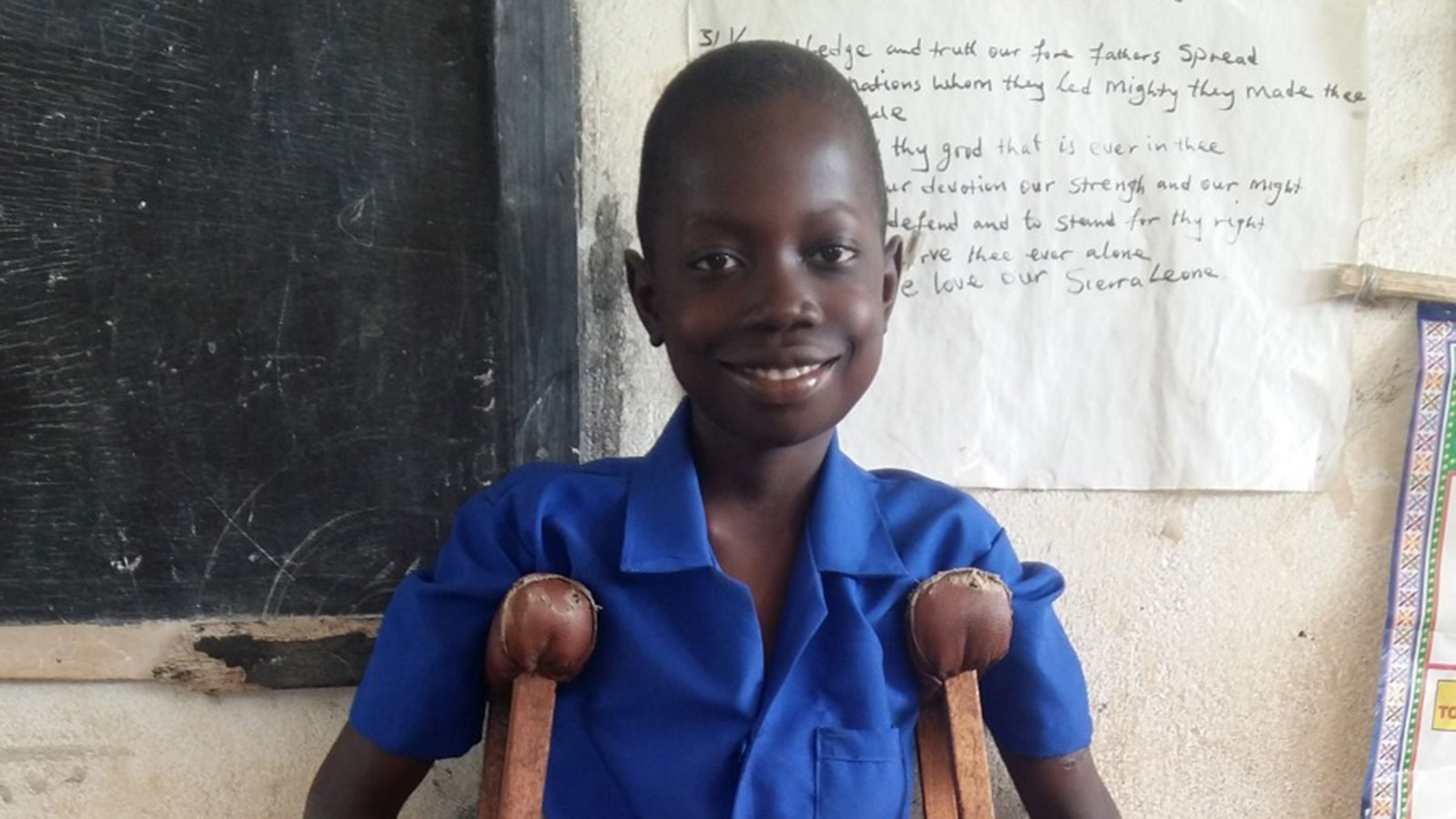 Sierra Leone | Bringing children with disabilities out of the shadows