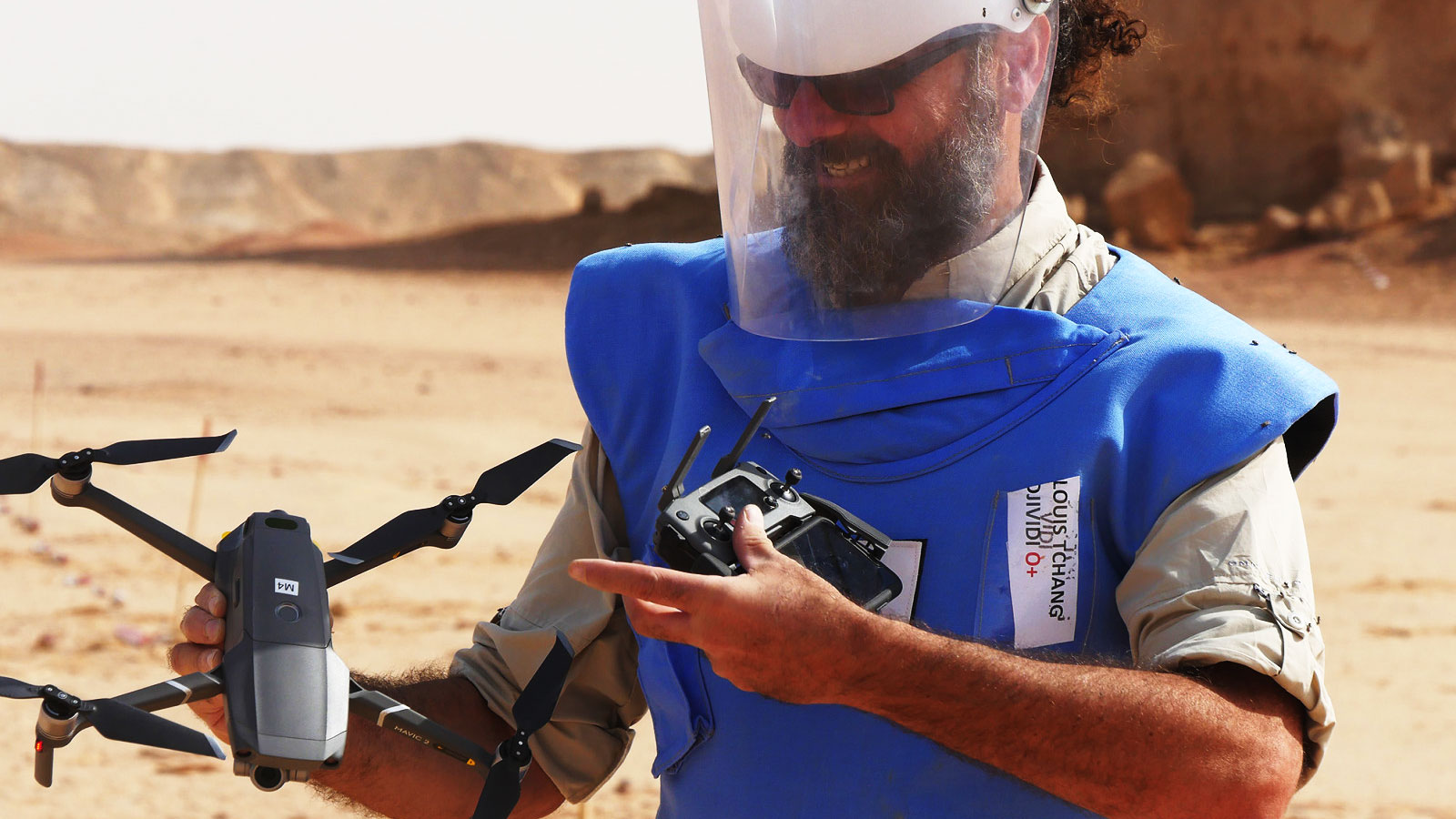 Chad | Detecting landmines with drones