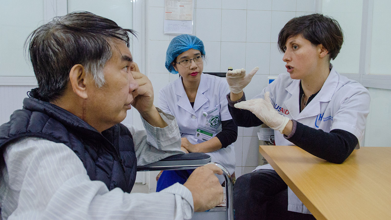 Vietnam | Establishing speech therapy for patients with brain lesions