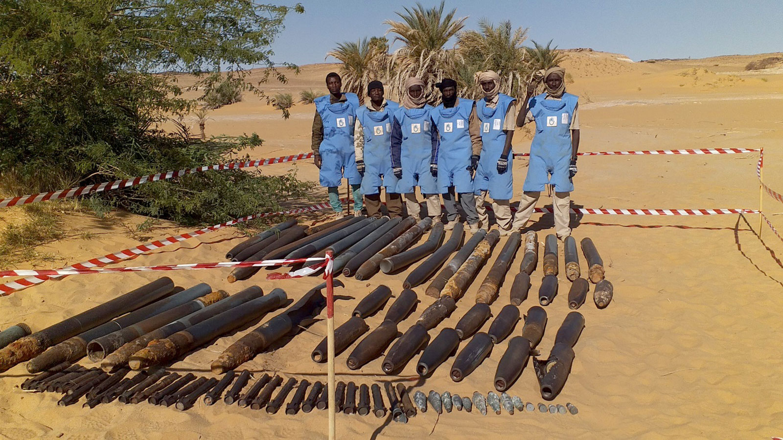 Chad | 30,000 sq. meters cleared of landmines