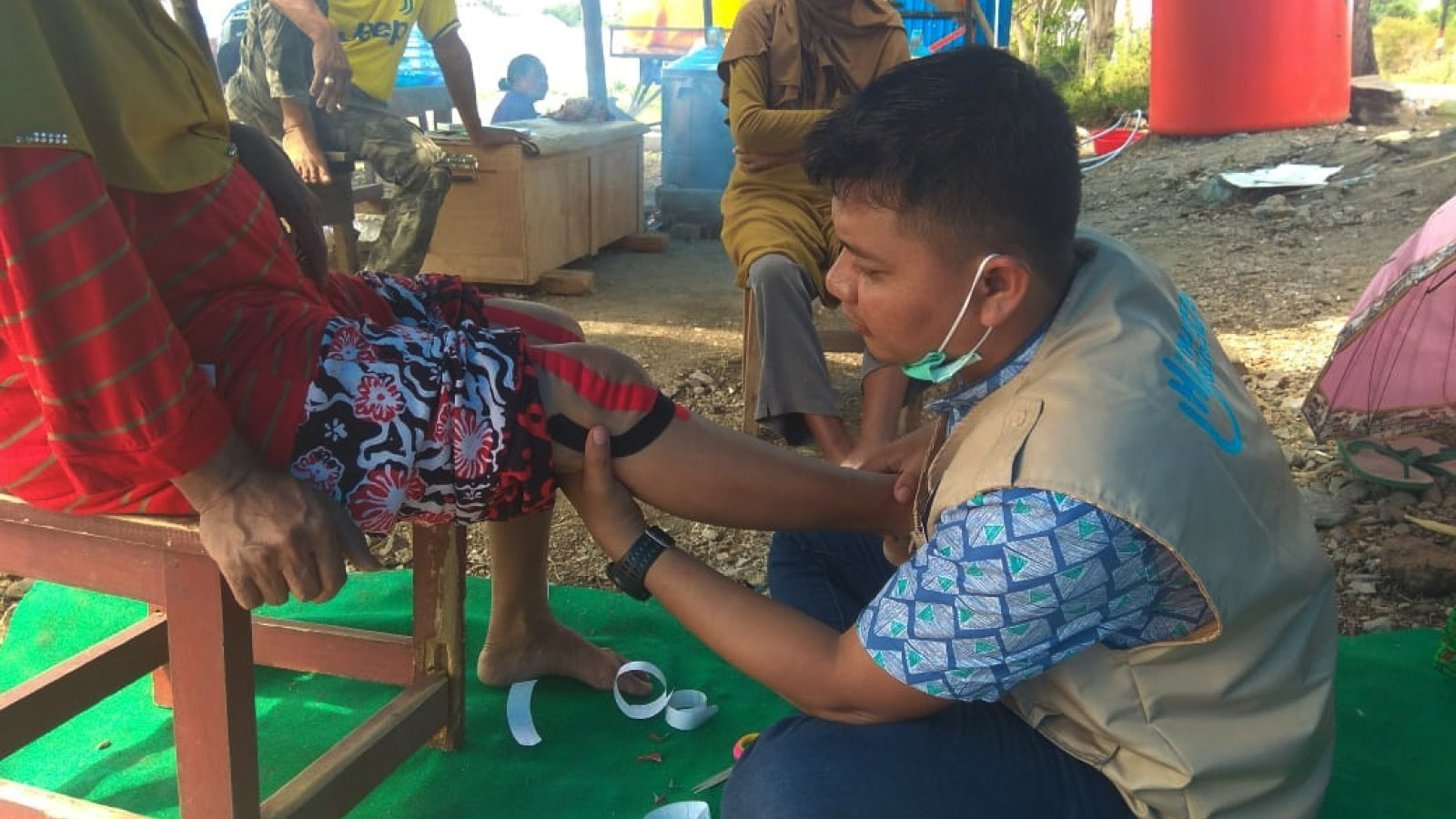 Indonesia | Rehabilitation care for 800 casualties
