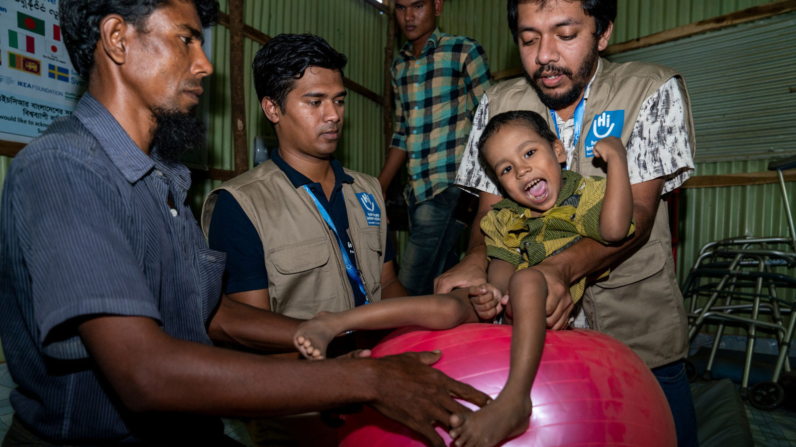 Bangladesh | Rohingya boy finally receives treatment for CP