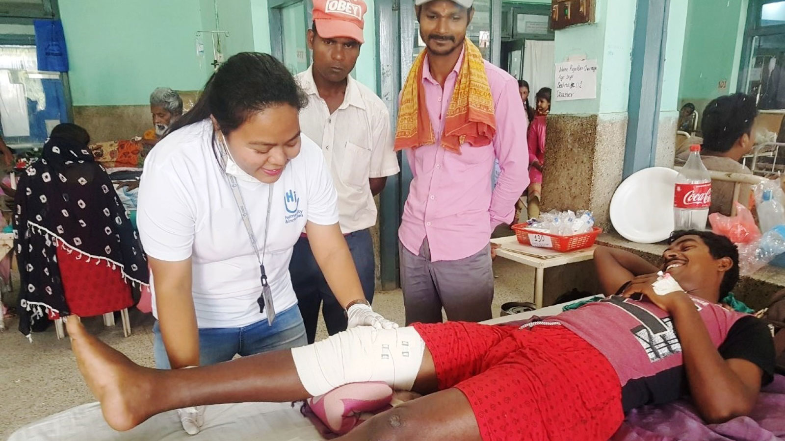 Nepal | Tornado victims receive emergency rehabilitation care