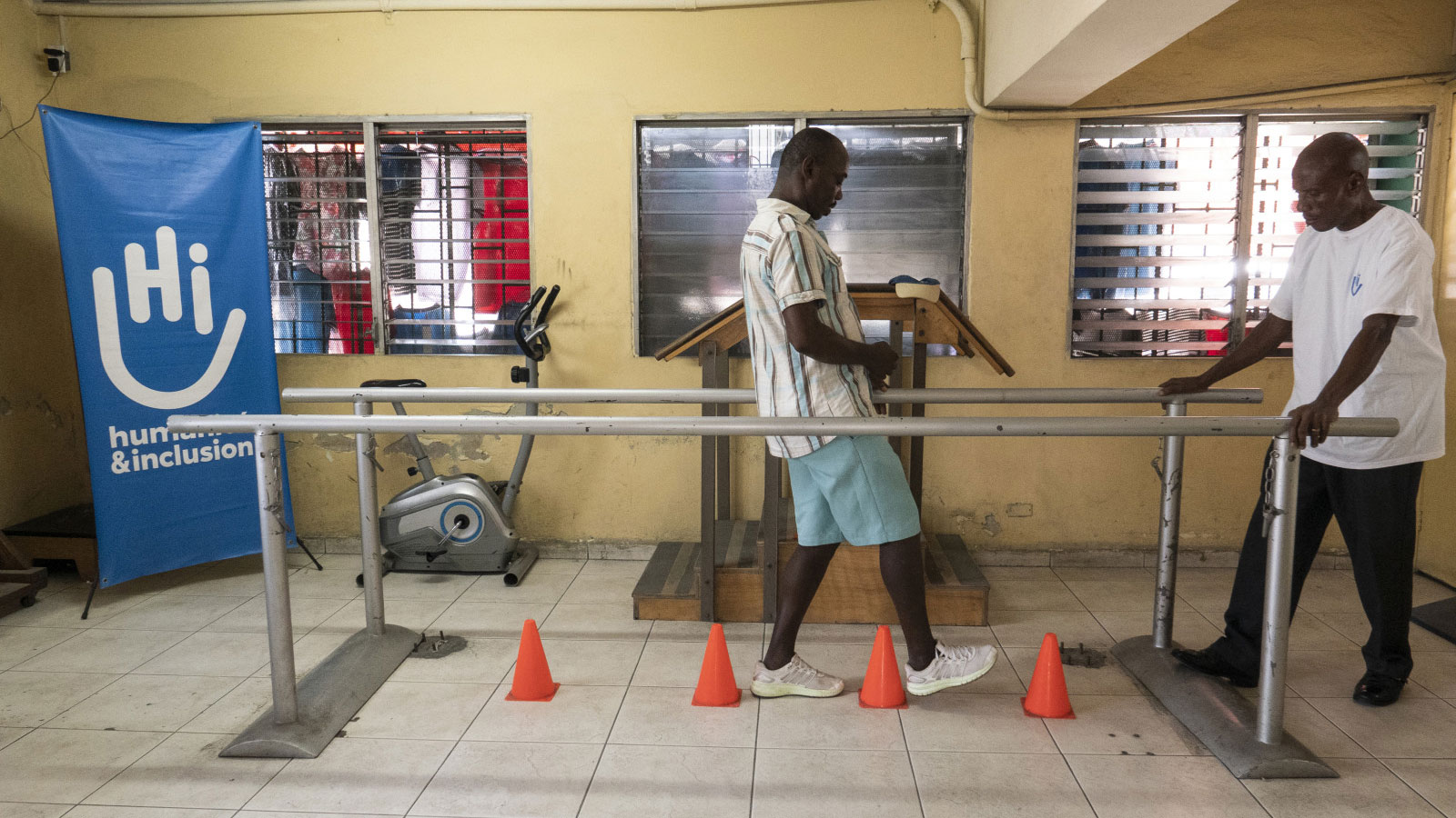 Haiti | A huge step forward in rehabilitation care