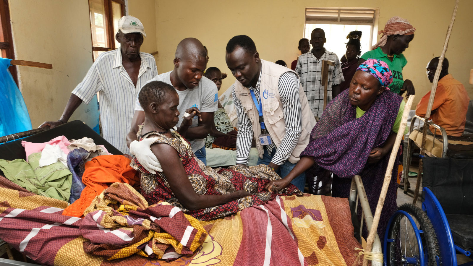 South Sudan | Humanity & Inclusion's emergency mobile teams assist vulnerable displaced people