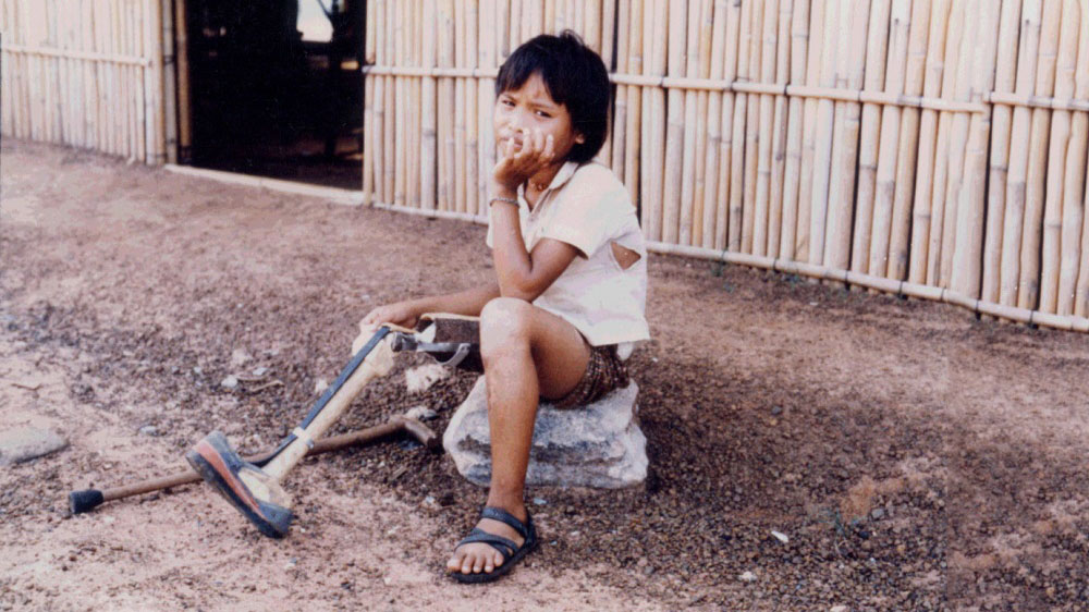 one of our first beneficiaries in Thailand
