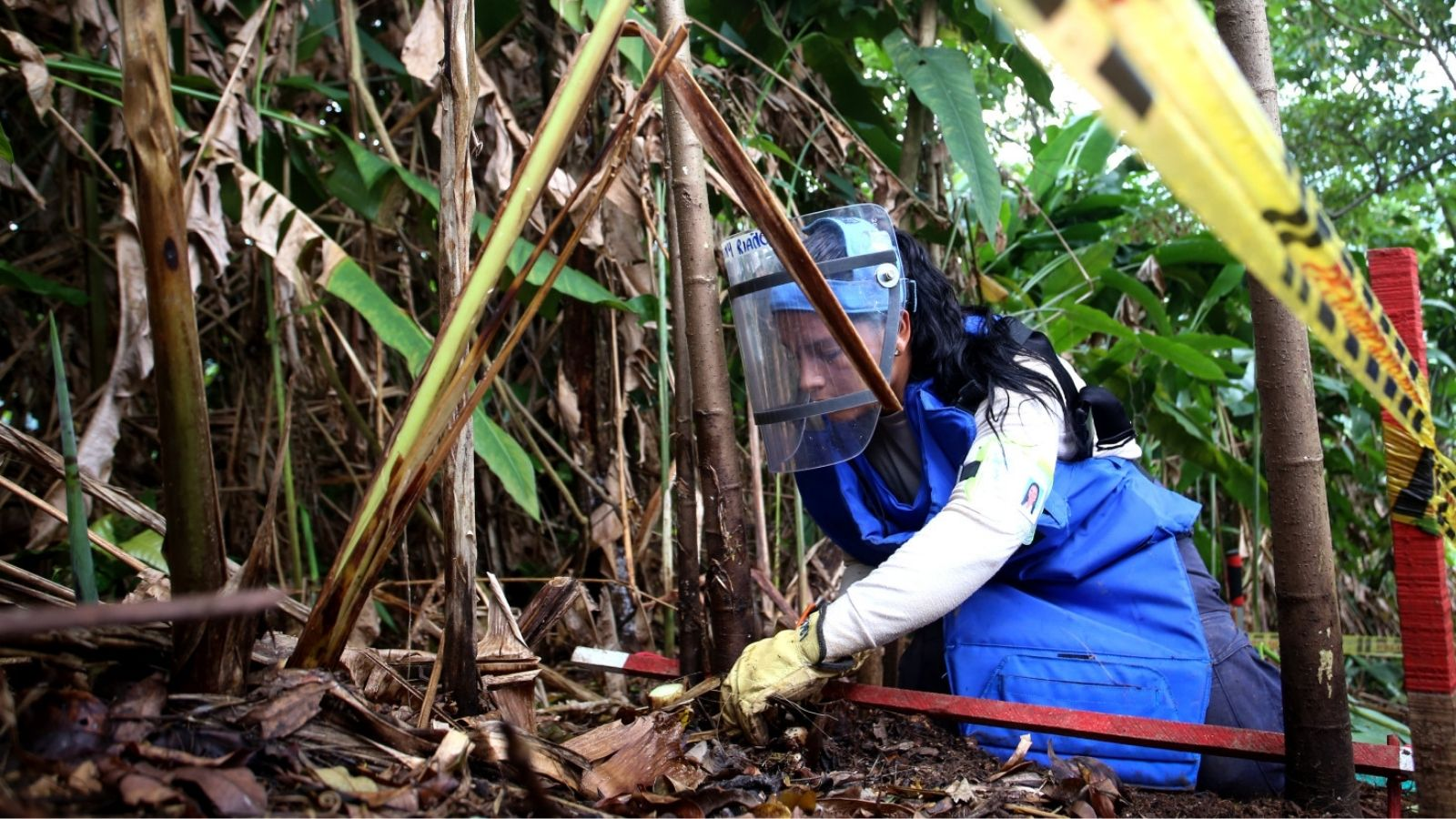Colombia | Mine action continues amid pandemic and violence