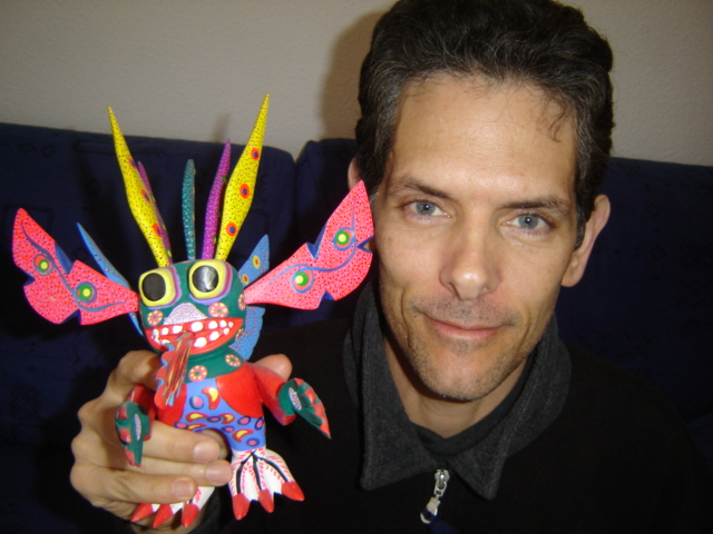 Mark_with_Colorful_Mexican_Bird.JPG