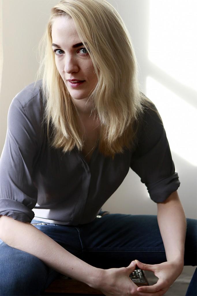 Portrait of Emily Carmichael - by Jen Maler-Med