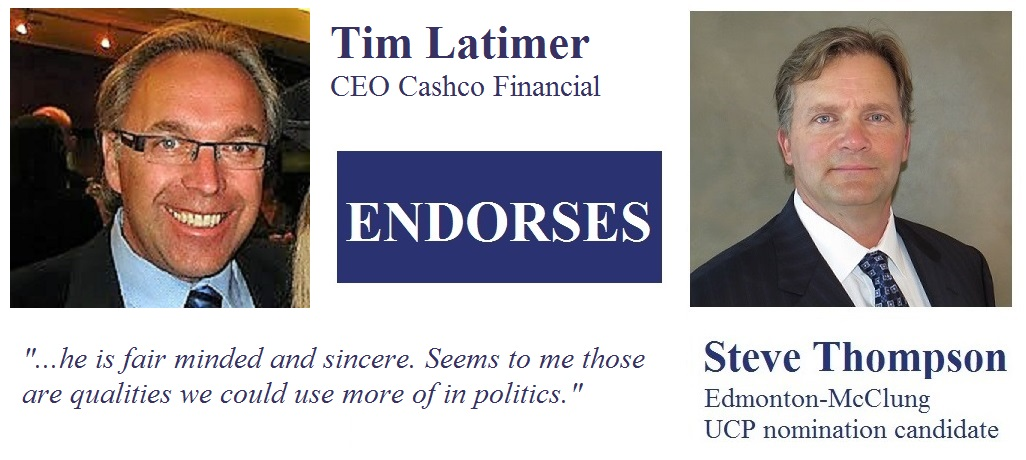Tim Latimer CEO Cashco Financial Inc, President Settlement Lenders Inc.  endorsement
