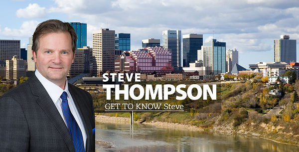 Steve Thompson. United conservative party candidate for  Edmonton McClung MLA.  Alberta Legislature.