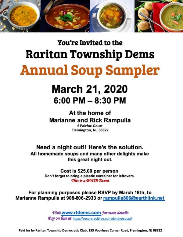 Raritan Township Soup Sampler