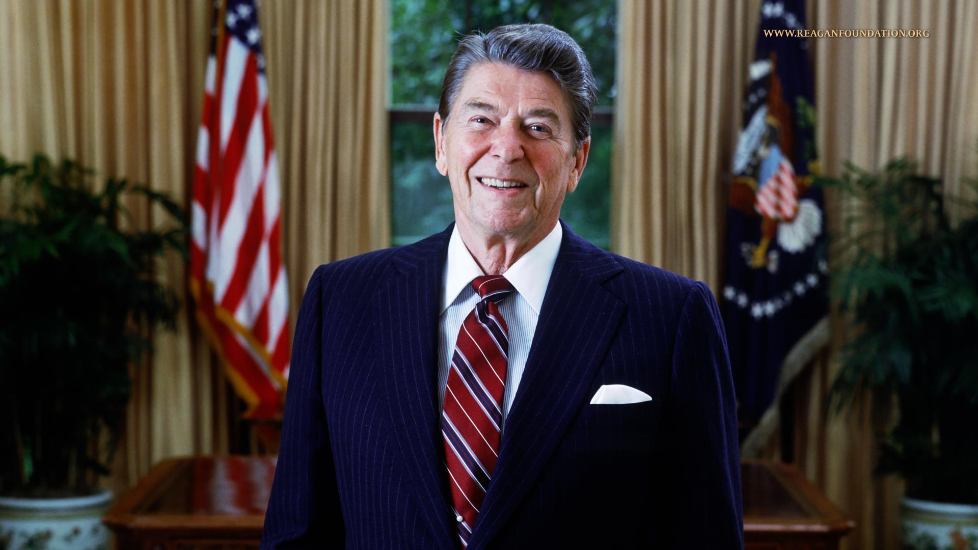 Photo: President Reagan