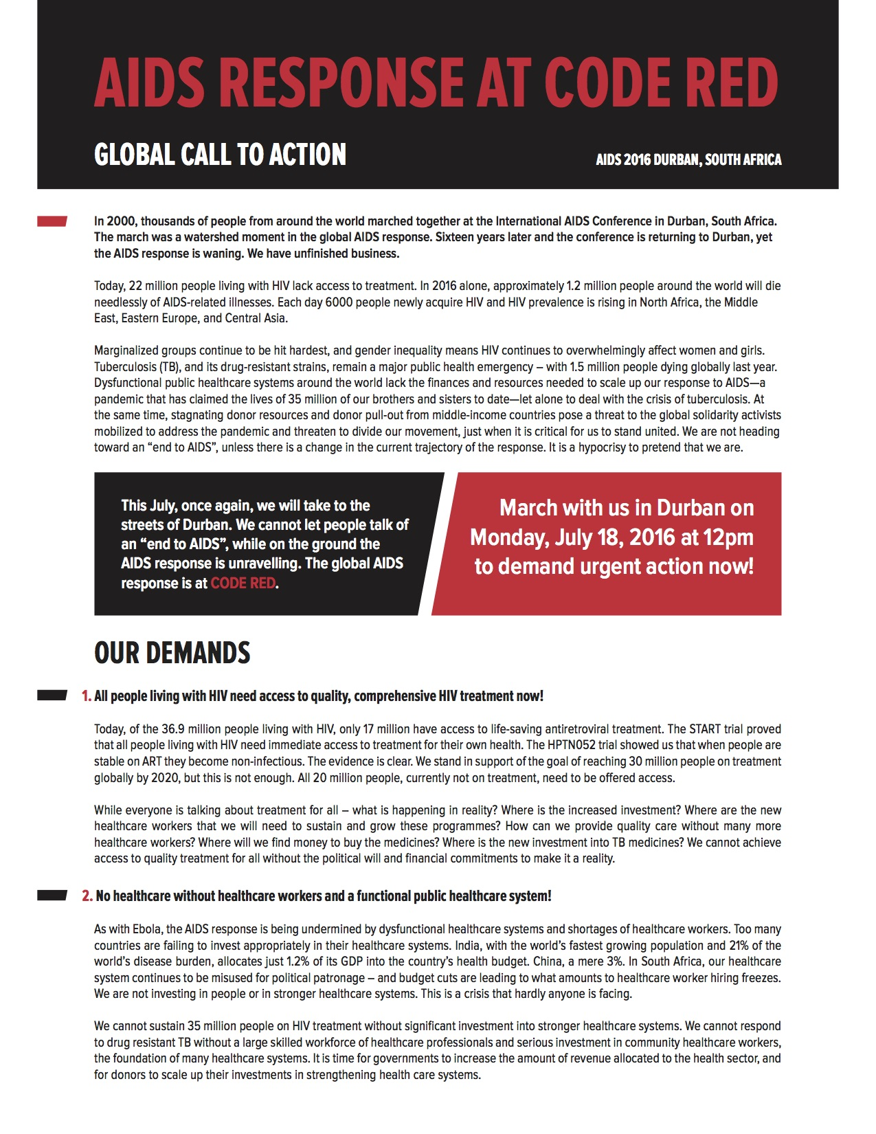 Call to Action Page 1