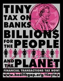Financial Transaction Tax Graphic