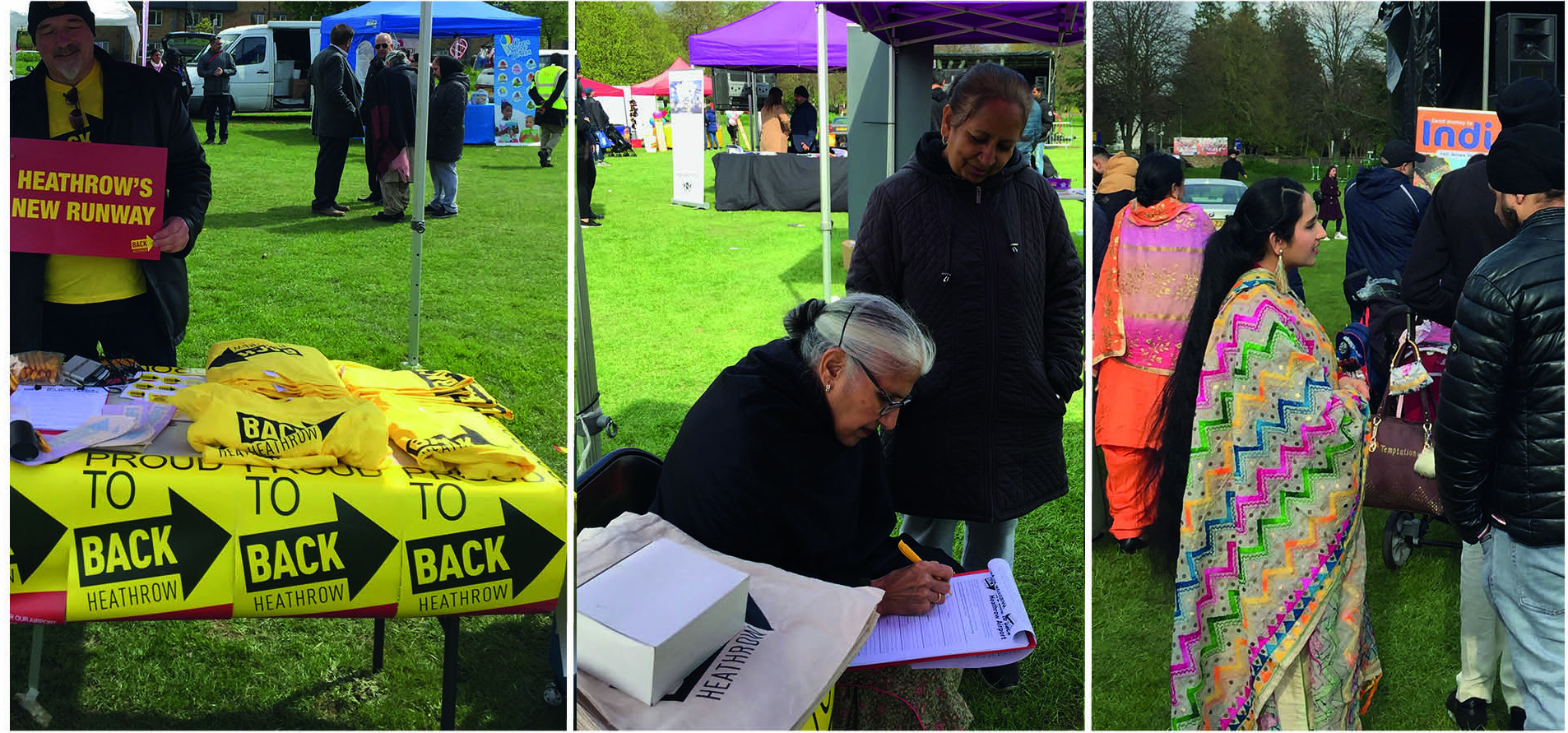 Vaisahki Southall 2019 in Norwood Green park