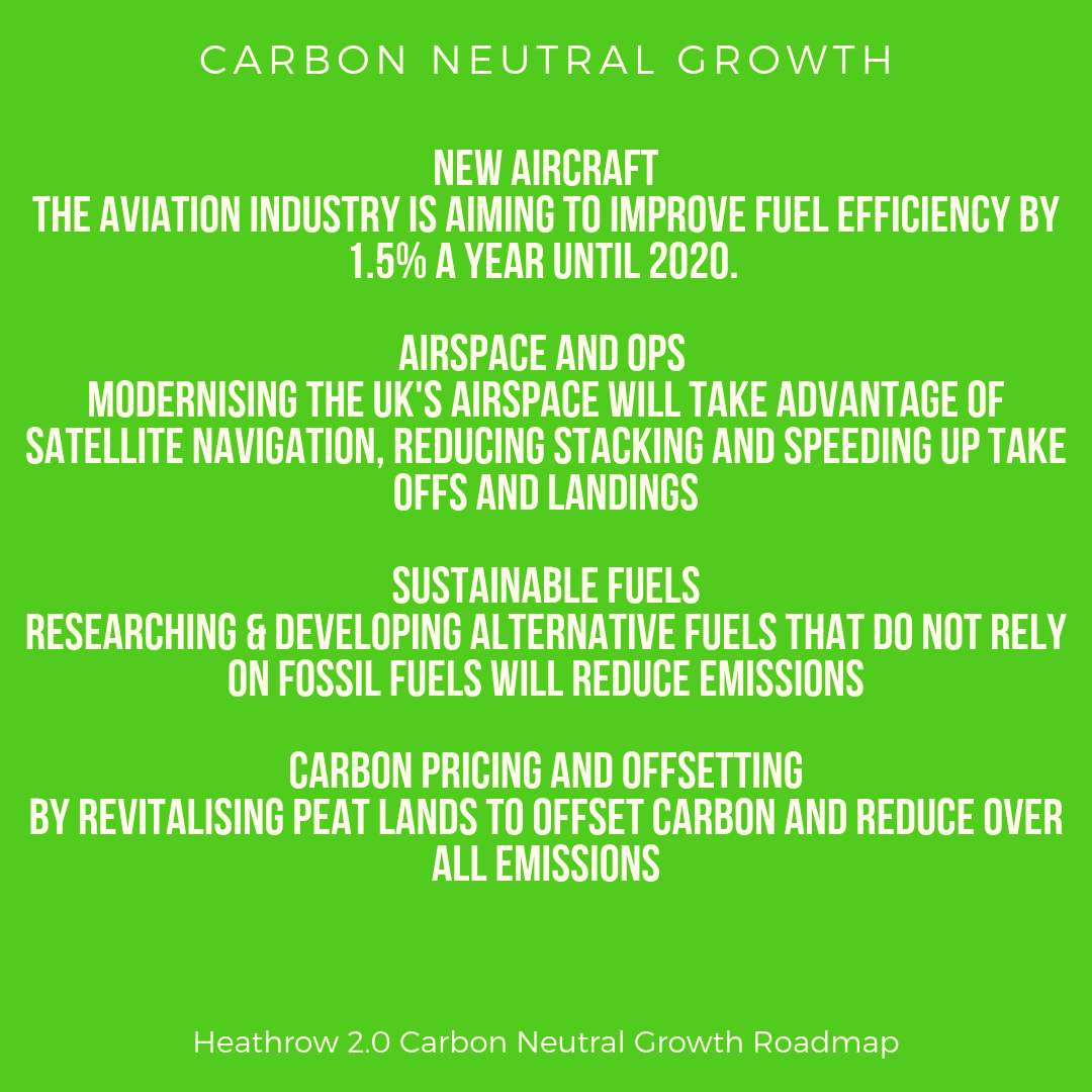 Carbon neutral growth at Heathrow